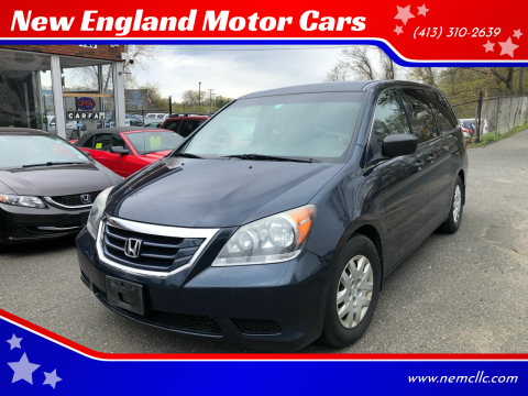 2010 Honda Odyssey for sale at New England Motor Cars in Springfield MA