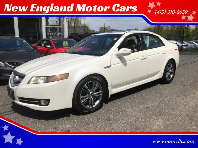 2008 Acura TL for sale at New England Motor Cars in Springfield MA