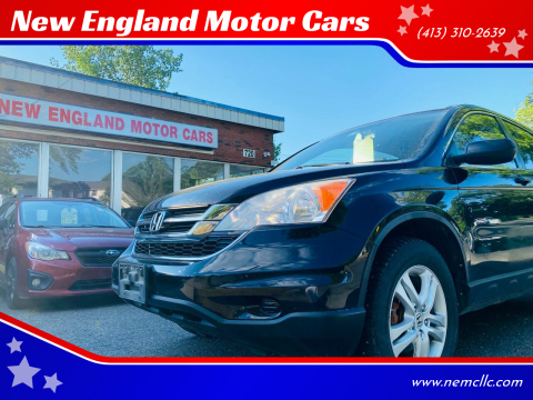 2011 Honda CR-V for sale at New England Motor Cars in Springfield MA