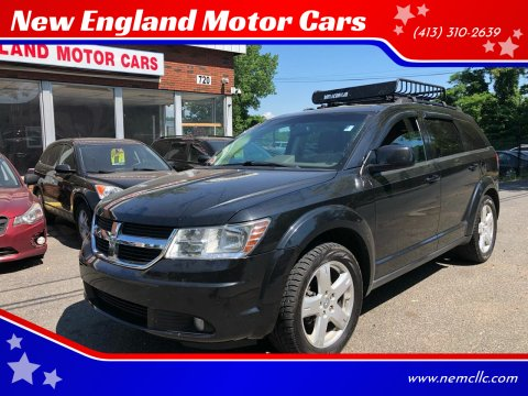 2010 Dodge Journey for sale at New England Motor Cars in Springfield MA