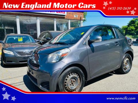 2012 Scion iQ for sale at New England Motor Cars in Springfield MA