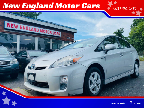 2010 Toyota Prius for sale at New England Motor Cars in Springfield MA