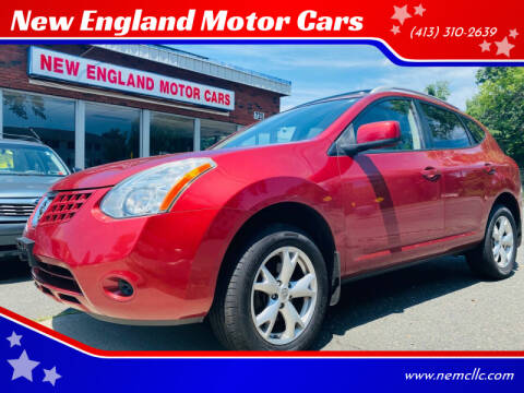 2008 Nissan Rogue for sale at New England Motor Cars in Springfield MA