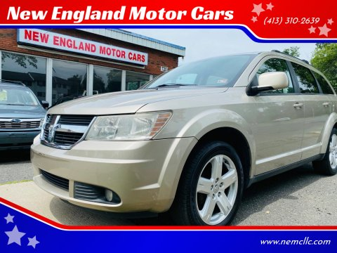 2009 Dodge Journey for sale at New England Motor Cars in Springfield MA