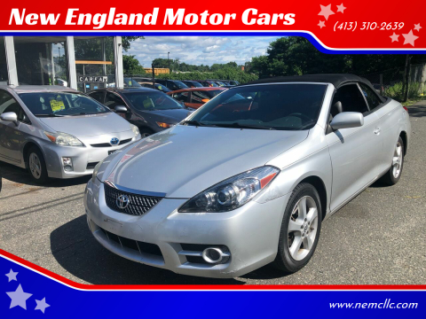 2008 Toyota Camry Solara for sale at New England Motor Cars in Springfield MA