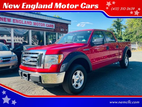 2012 Ford F-150 for sale at New England Motor Cars in Springfield MA
