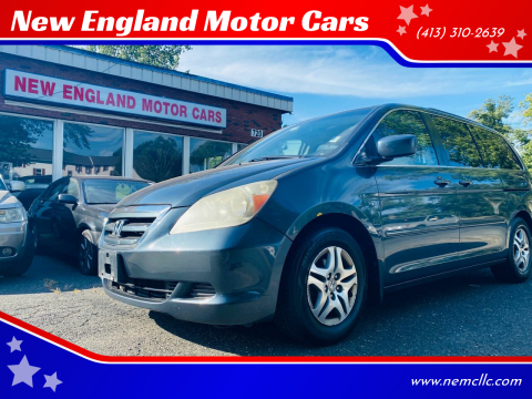2005 Honda Odyssey for sale at New England Motor Cars in Springfield MA