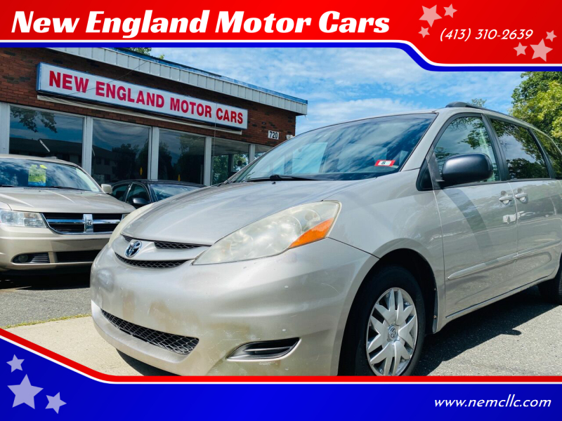 2008 Toyota Sienna for sale at New England Motor Cars in Springfield MA