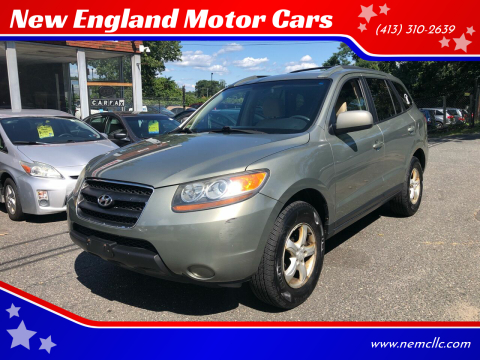 2007 Hyundai Santa Fe for sale at New England Motor Cars in Springfield MA