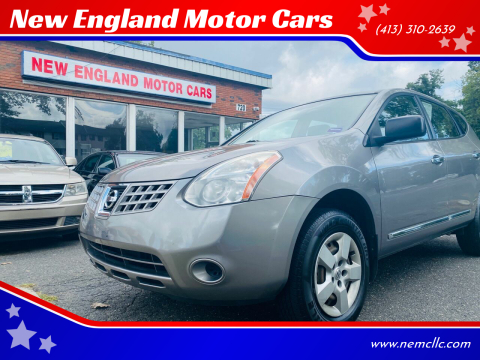 2013 Nissan Rogue for sale at New England Motor Cars in Springfield MA