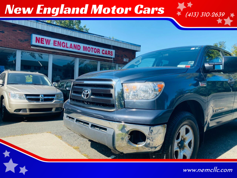 2010 Toyota Tundra for sale at New England Motor Cars in Springfield MA