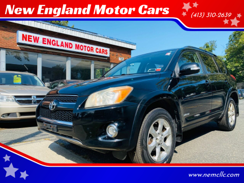 2010 Toyota RAV4 for sale at New England Motor Cars in Springfield MA