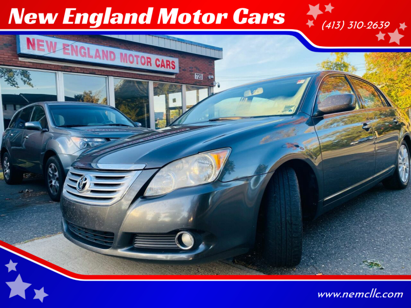 2008 Toyota Avalon for sale at New England Motor Cars in Springfield MA