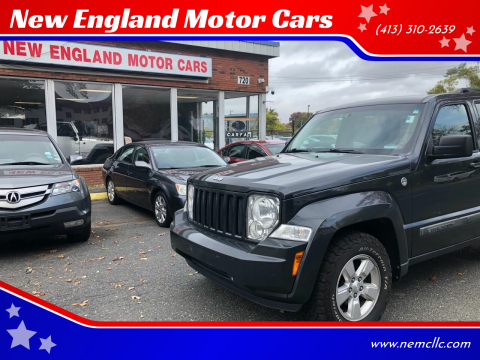 2011 Jeep Liberty for sale at New England Motor Cars in Springfield MA