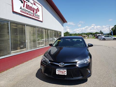 2017 Toyota Camry for sale in Farmington, ME