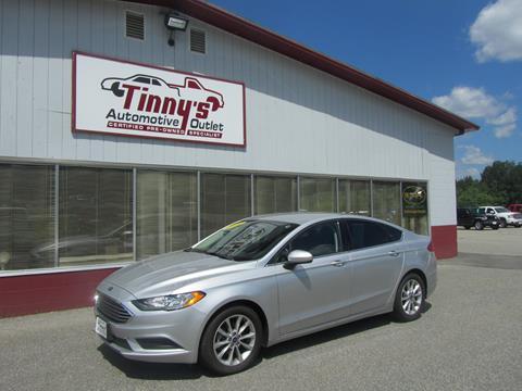 2017 Ford Fusion for sale in Farmington, ME
