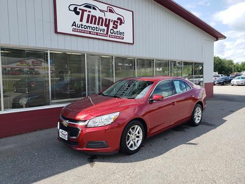2014 Chevrolet Malibu for sale in Farmington, ME