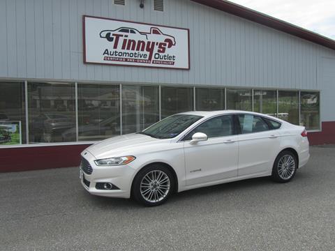 2014 Ford Fusion Hybrid for sale in Farmington, ME