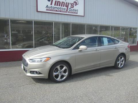 2016 Ford Fusion for sale in Farmington, ME