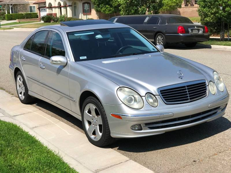 2005 Mercedes Benz E Class For Sale At BA AUTO SALES CORP In Upland