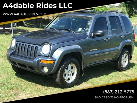 2002 Jeep Liberty for sale in Haines City, FL