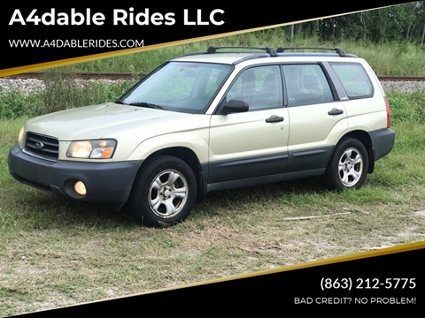 2003 Subaru Forester for sale in Haines City, FL
