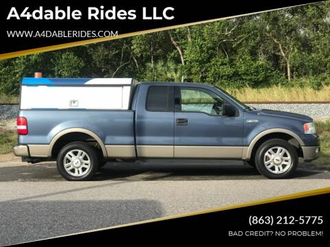 2004 Ford F-150 Lariat for sale at A4dable Rides LLC in Haines City FL