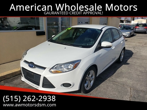 2014 Ford Focus for sale in Des Moines, IA