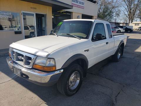 99 ford ranger towing capacity