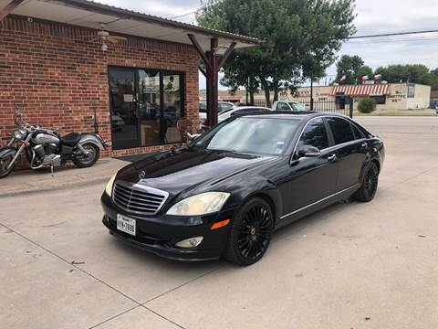 2007 Mercedes-Benz S-Class for sale in Grand Prairie, TX