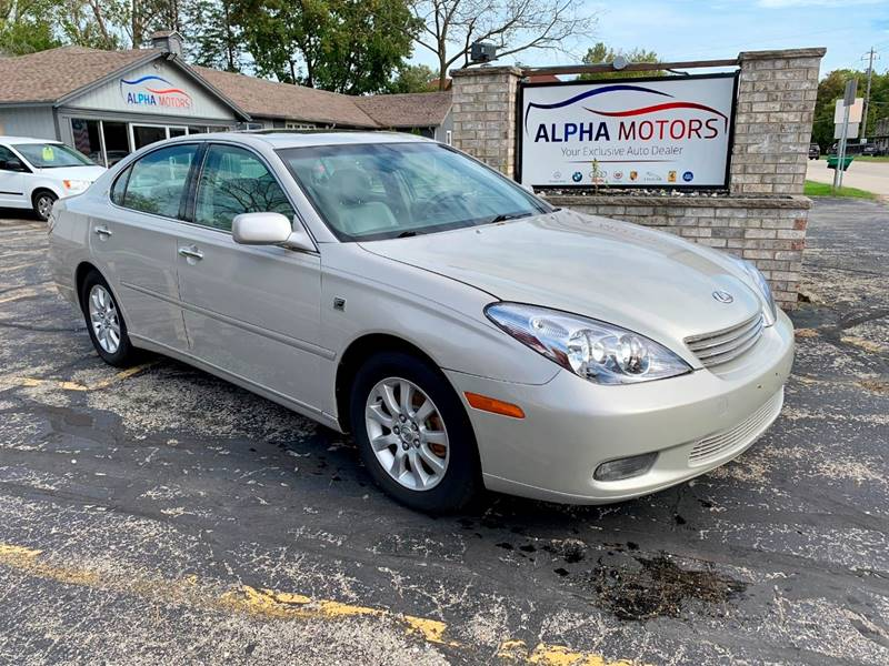 2003 Lexus ES 300 For Sale At Alpha Motors In New Berlin WI