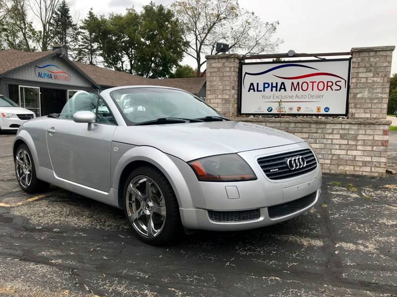 Audi TT Hp Quattro In New Berlin WI Alpha Motors - 2001 audi