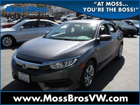 2016 Honda Civic For Sale In Moreno Valley, CA