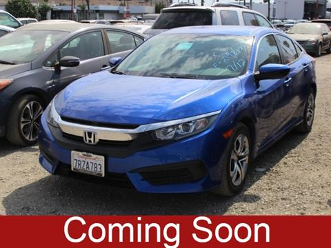 2016 Honda Civic For Sale At MOSS BROTHERS VOLKSWAGEN In Moreno Valley CA