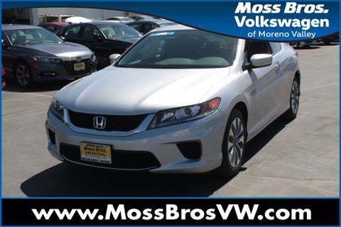 2015 Honda Accord For Sale In Moreno Valley, CA