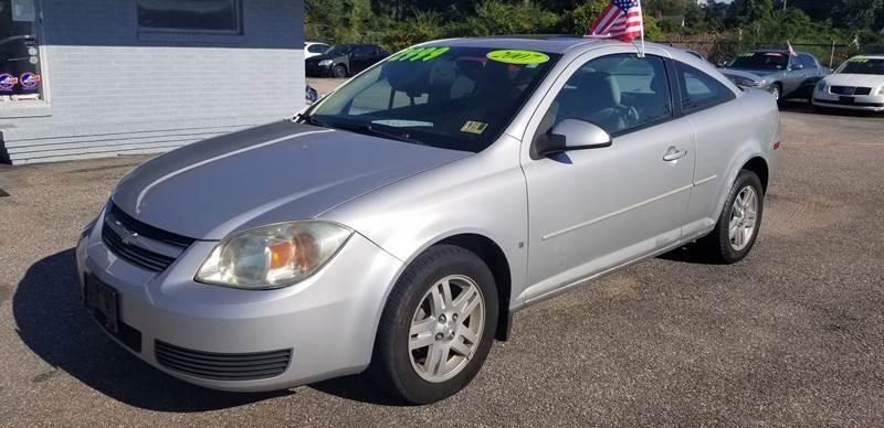 2007 Chevrolet Cobalt For Sale At Shorehaven Motorsports In Newport News VA