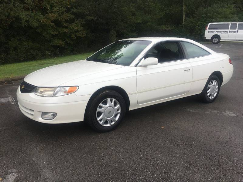 2000 Toyota Camry Solara For Sale At Eastend Auto Mart In Russellville KY