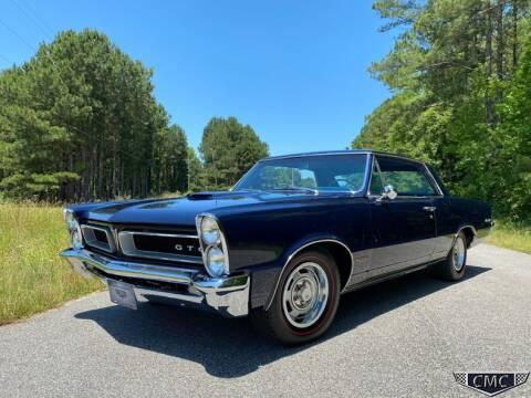 1965 Pontiac GTO for sale at Carolina Muscle Cars Inc. in Benson NC