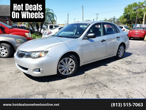 2008 Subaru Impreza for sale at Hot Deals On Wheels in Tampa FL