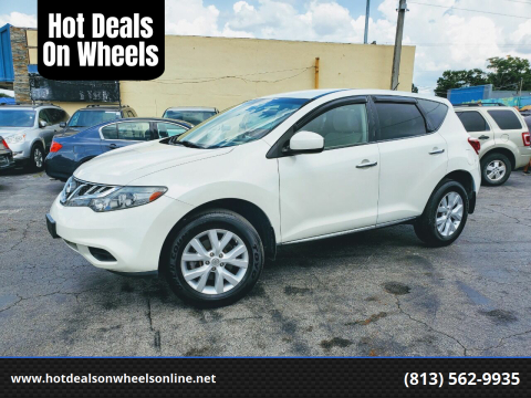 2012 Nissan Murano for sale at Hot Deals On Wheels in Tampa FL