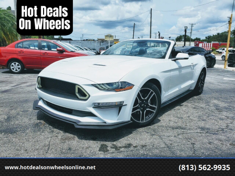 2018 Ford Mustang for sale at Hot Deals On Wheels in Tampa FL