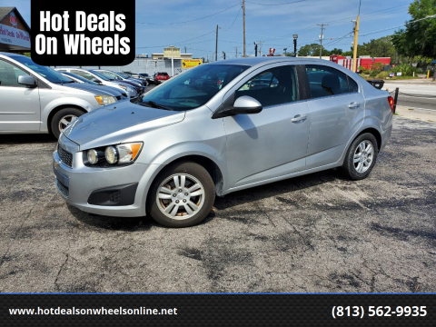 2014 Chevrolet Sonic for sale at Hot Deals On Wheels in Tampa FL