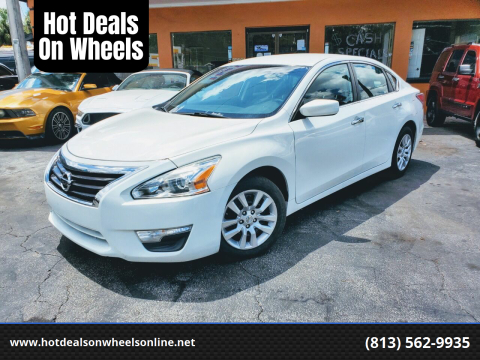 2015 Nissan Altima for sale at Hot Deals On Wheels in Tampa FL