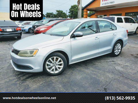 2011 Volkswagen Jetta for sale at Hot Deals On Wheels in Tampa FL