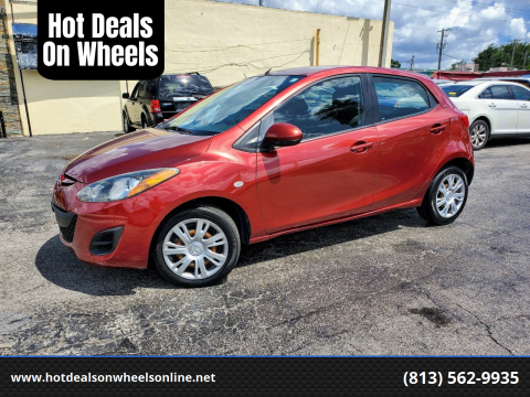 2014 Mazda MAZDA2 for sale at Hot Deals On Wheels in Tampa FL