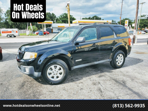 2008 Mazda Tribute for sale at Hot Deals On Wheels in Tampa FL
