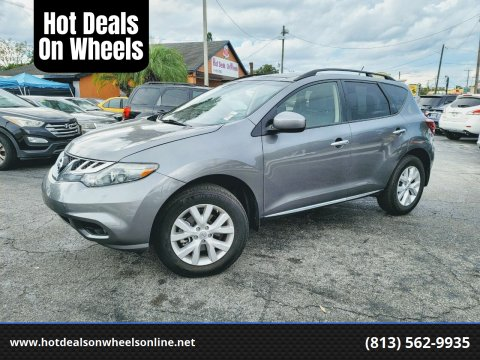 2013 Nissan Murano for sale at Hot Deals On Wheels in Tampa FL