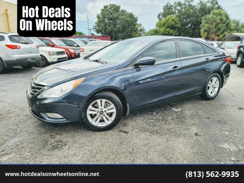 2013 Hyundai Sonata for sale at Hot Deals On Wheels in Tampa FL