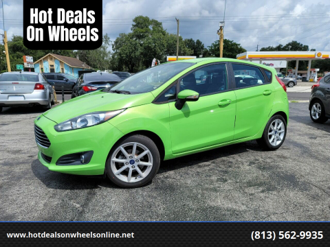 2015 Ford Fiesta for sale at Hot Deals On Wheels in Tampa FL