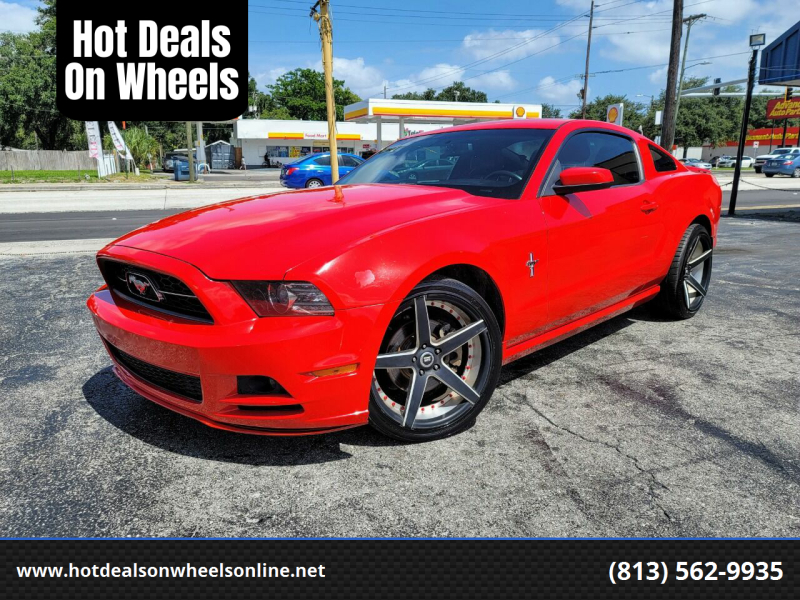 2013 Ford Mustang for sale at Hot Deals On Wheels in Tampa FL